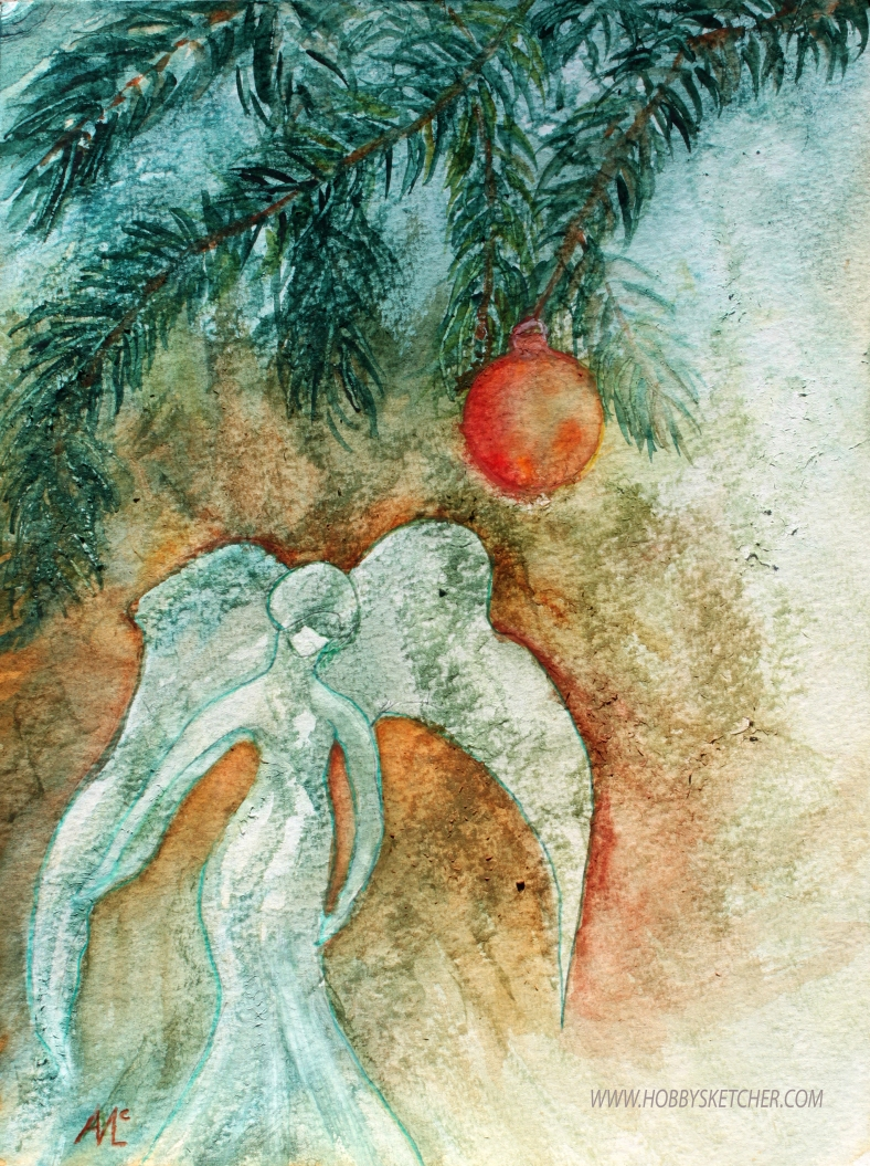 fir tree angel