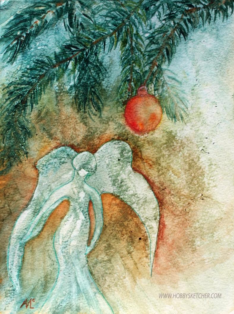 fir tree angel