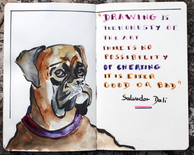 Thoughtful dog jpg